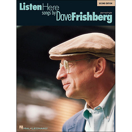 Hal Leonard Listen Here Songs By Dave Frishberg 2nd Edition arranged for piano, vocal, and guitar (P/V/G)-thumbnail