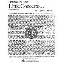 Boston Music Little Concerto in C Music Sales America Series