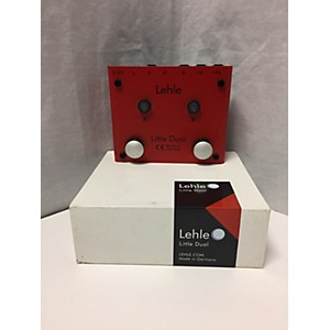 Pre-owned Lehle Little Dual Amp Switcher Pedal by Lehle