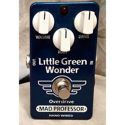 Mad Professor Little Green Wonder Overdrive Effect Pedal-thumbnail