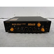 Markbass Little Mark Black Line 250 Bass Amp Head