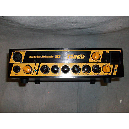 Markbass Little Mark III 500W Bass Amp Head-thumbnail