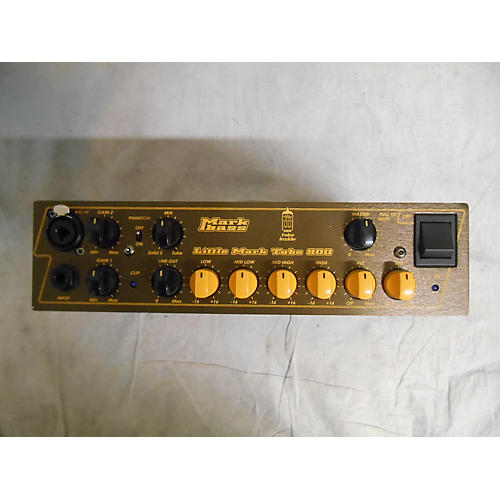 Markbass Little Mark Tube 800 Tube Bass Amp Head-thumbnail