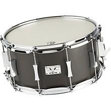 Pork Pie Little Squealer Birch / Mahogany Snare Drum Level 1 14 x 7 in. Black Satin