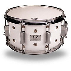 Little Squealer Maple/Birch Vented Snare Drum 13 x 7 White Satin