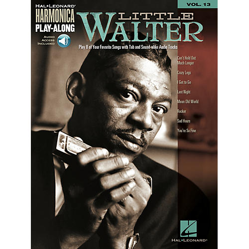 Hal Leonard Little Walter Harmonica Play-Along Series Softcover Audio Online Performed by Little Walter