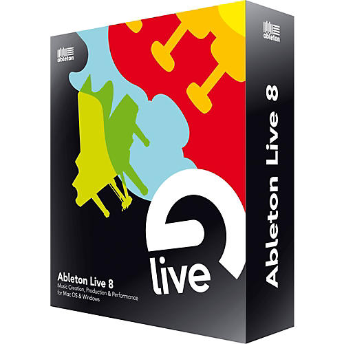 Ableton Live 8 Upgrade from Live 1-6