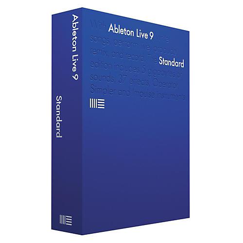 Ableton Live 9 Standard Software Download