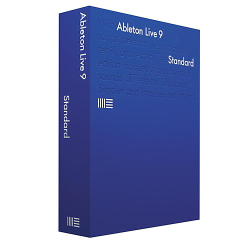 Ableton Live 9 Standard Upgrade from Live 7-8 Suite Software Download