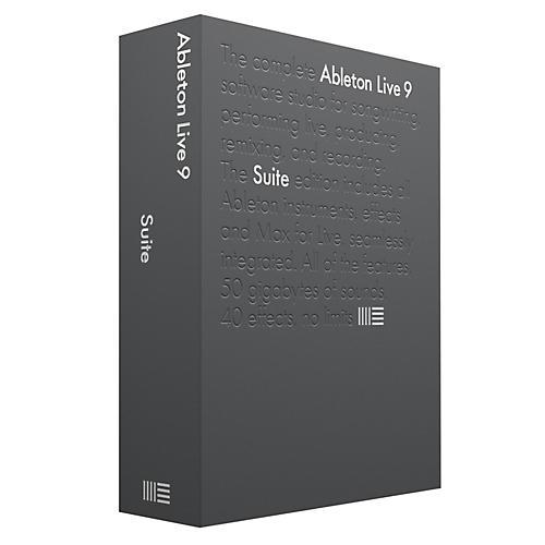 Ableton Live 9 Suite Educational Version Software Download