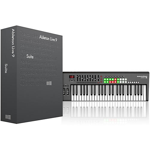 Ableton Live 9 Suite (Boxed) with Novation Launchkey 49