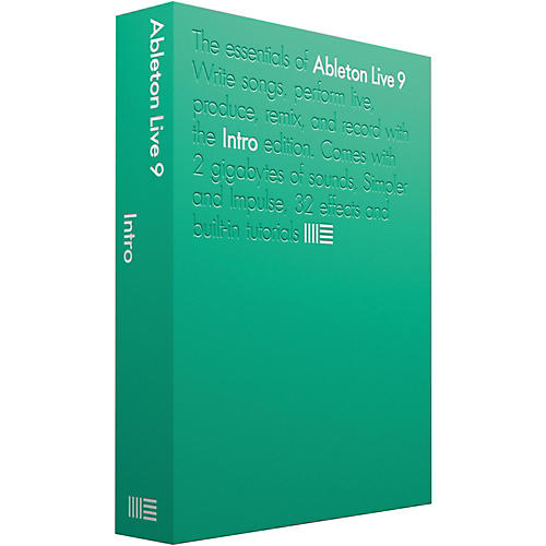 Ableton Live 9.5 Intro Software Download