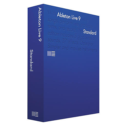 Ableton Live 9.5 Standard Upgrade from Standard 1-8 Software Download