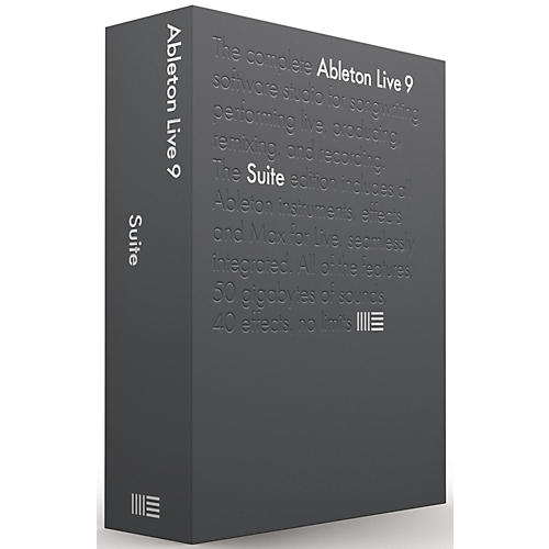 Ableton Live 9.5 Suite Upgrade from Intro Software Download