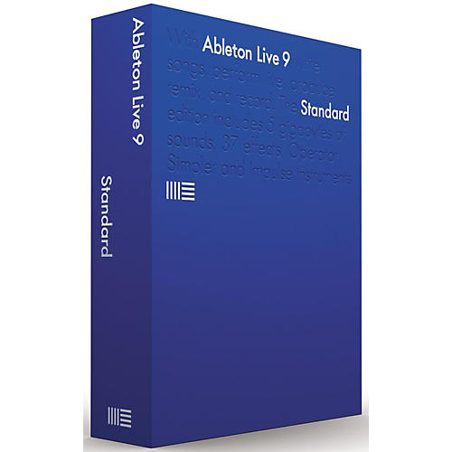 Ableton Live 9.7 Standard Upgrade from Intro Software Download-thumbnail