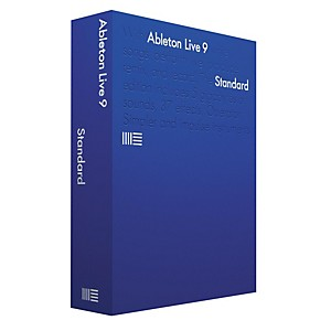 Ableton Live 9.7 Standard Upgrade from Standard 1-8 Software Download by Ableton