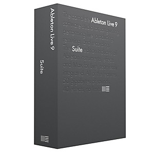 Ableton Live 9.7 Suite Upgrade from Live 1-8 Standard Software Download by Ableton