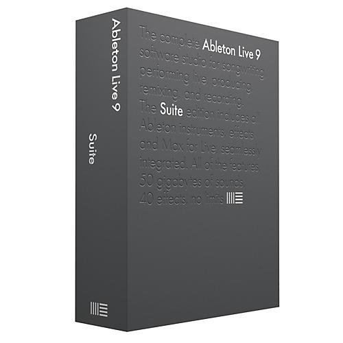 Ableton Live 9.7 Suite Upgrade from Live 1-8 Standard Software Download