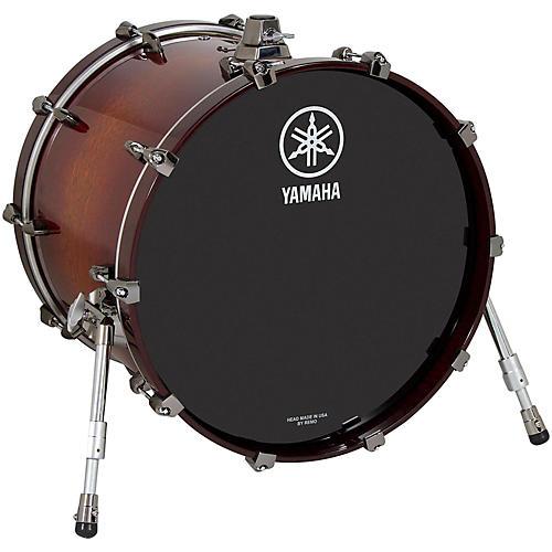 Yamaha Live Custom Bass Drum 18 x 14 in. Amber Shadow Sunburst