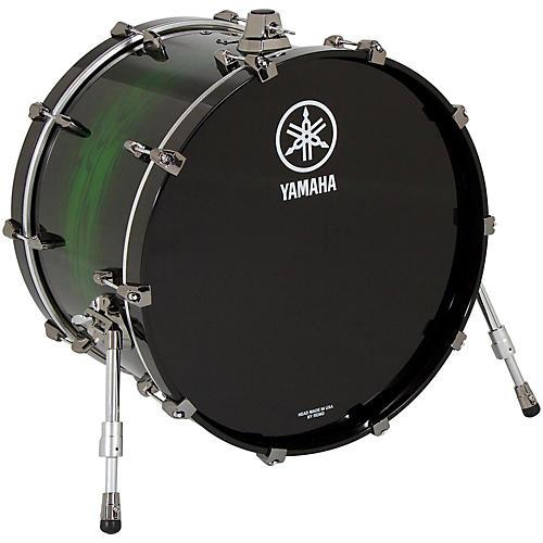 Yamaha Live Custom Bass Drum 22 x 14 in. Emerald Shadow Sunburst