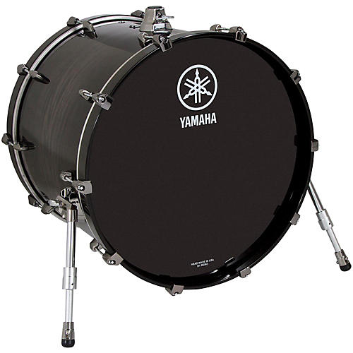 Yamaha Live Custom Oak Bass Drum 20 x 16 in. Black Wood