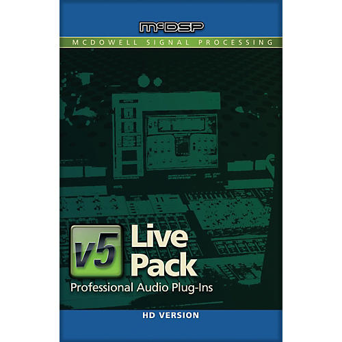 McDSP Live Pack HD v6 (Software Download)-thumbnail