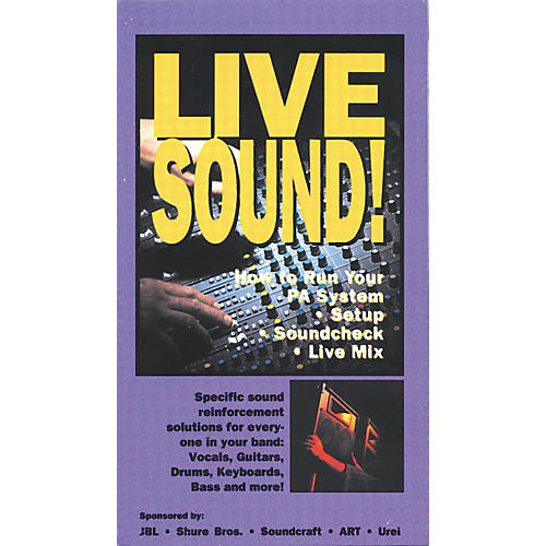 Gear One Live Sound! Video