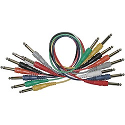 "Live Wire 1/4"" - 1/4"" Patch Cable 8-Pack (Q18Q8)"