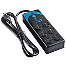 Live Wire Power strip with 10-foot cord