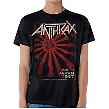 Anthrax Live in Japan T-Shirt