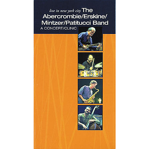 Hudson Music Live in New York City - The Abercrombie Erskine Mintzer Patitucci Band (VHS)