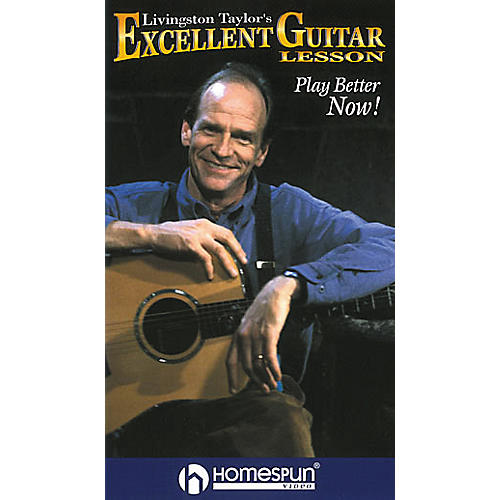 Homespun Livingston Taylor's Excellent Guitar Lesson (VHS)
