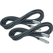 Rapco Horizon Lo-Microphone Cable 20 Feet 2-Pack