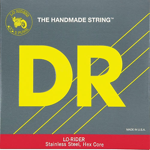 DR Strings Lo Rider H-120 Low B 5th Bass String-thumbnail