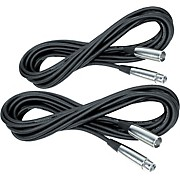 Musician's Gear Lo-Z Mic Cable 20' (2-Pack)