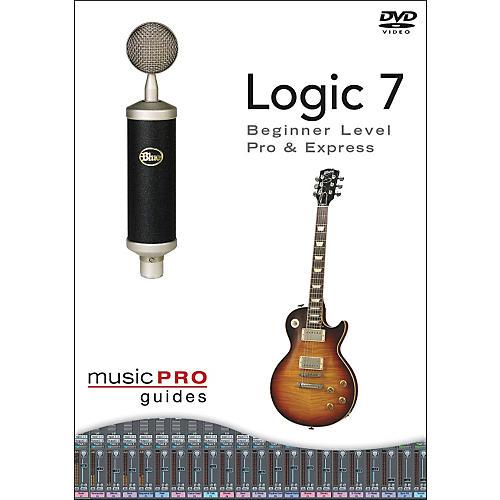 Hal Leonard Logic 7 - Beginner Level, Pro and Express DVD