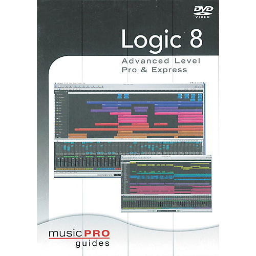 Hal Leonard Logic 8 Advanced Level Pro & Express - Music Pro Series (DVD)-thumbnail