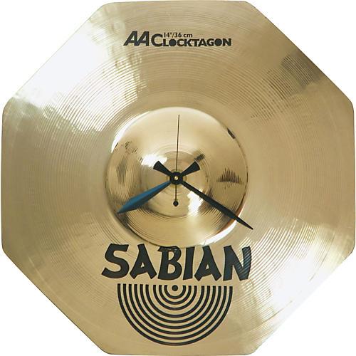 Sabian Logo Clocktagon Clock
