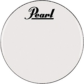 pearl logo marching bass drum heads 22 in guitar center. Black Bedroom Furniture Sets. Home Design Ideas