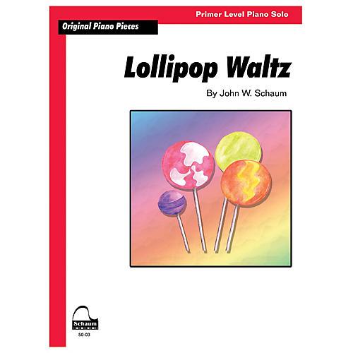SCHAUM Lollipop Waltz Educational Piano Book by John W. Schaum (Level Primer)