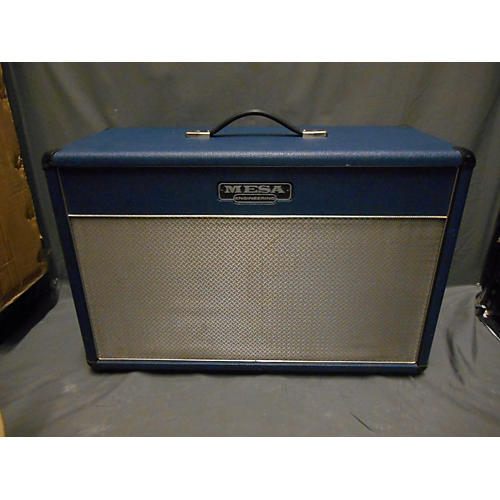Used mesa boogie lonestar blue 2x12 2cb guitar cabinet for Mesa boogie lonestar 2x12