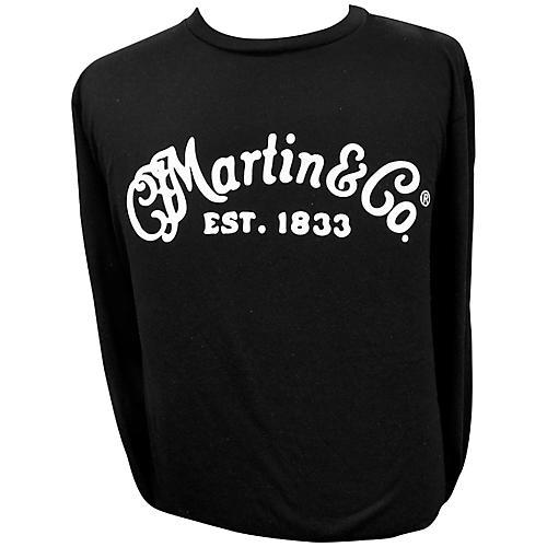 Martin Long Sleeve Signature T-Shirt Large Black