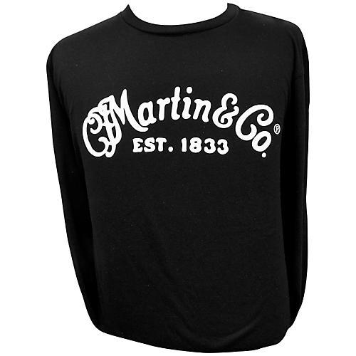 Martin Long Sleeve Signature T-Shirt Small Black