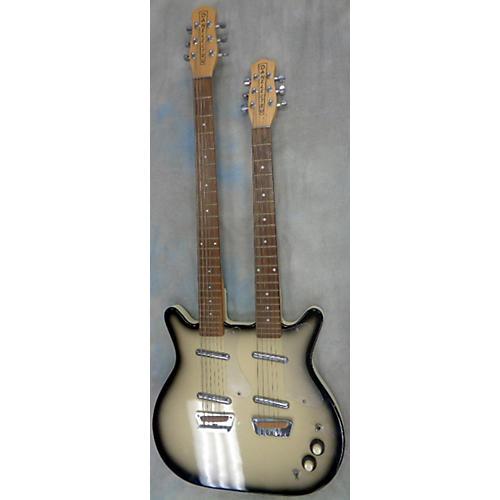 Danelectro Longhorn Baritone Doubleneck Solid Body Electric Guitar-thumbnail