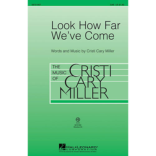Hal Leonard Look How Far We've Come 2-Part Composed by Cristi Cary Miller