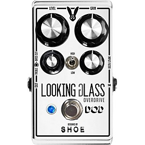 DOD Looking Glass Overdrive Guitar Effects Pedal by DOD