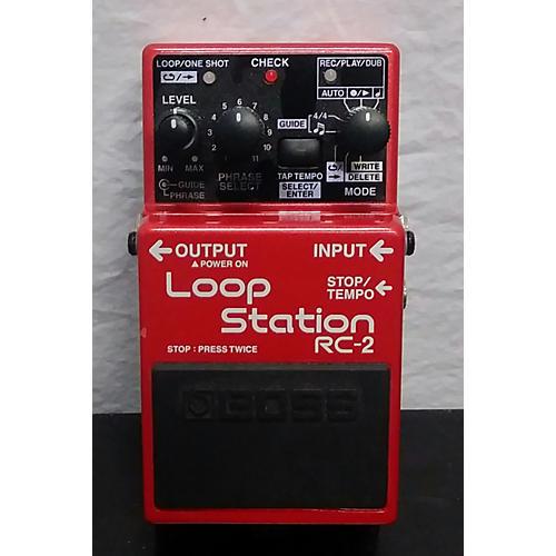 used boss loop station rc 2 pedal guitar center. Black Bedroom Furniture Sets. Home Design Ideas
