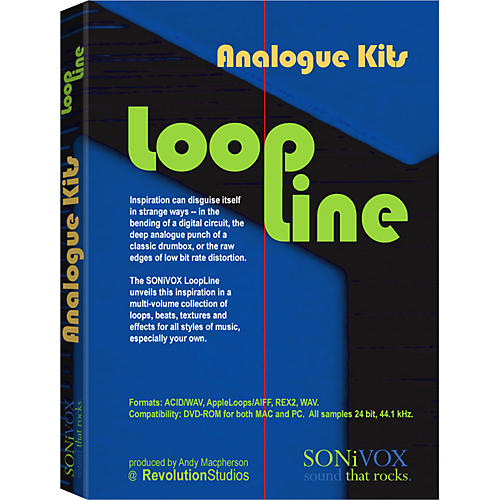 Sonivox LoopLine Analogue Kits Sample Loop Library-thumbnail