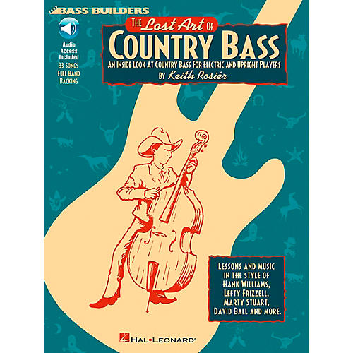 Hal Leonard Lost Art Of Country Bass Instruction (Book/CD)-thumbnail