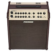 Fishman Loudbox Performer 180W Acoustic Guitar Combo Amp with Effects Level 1 Brown
